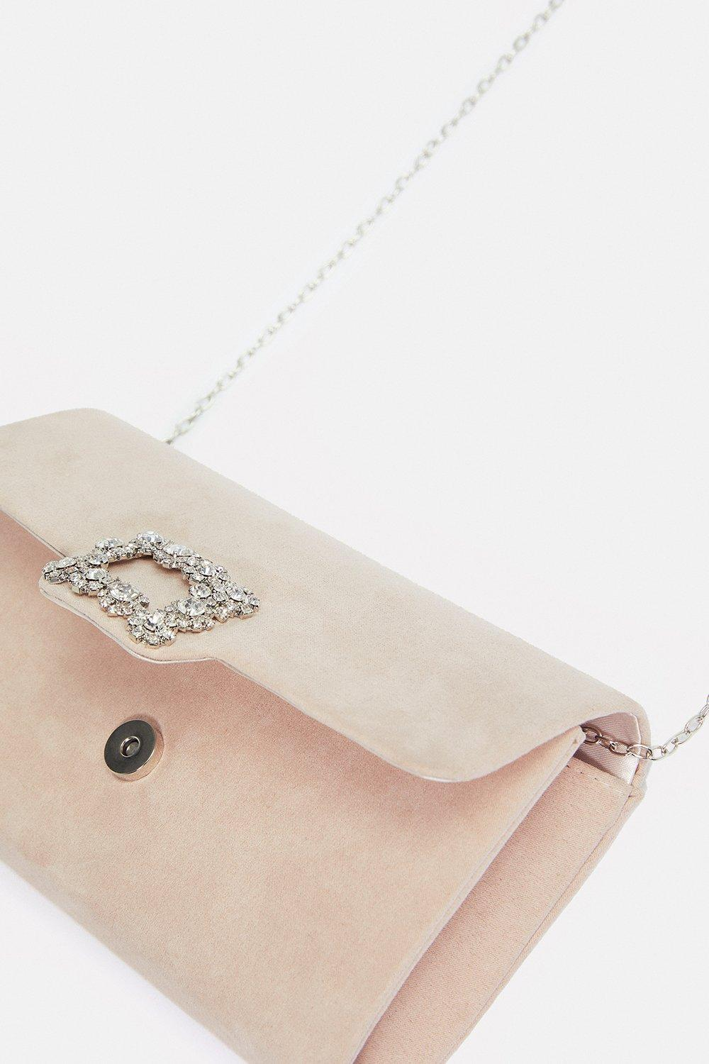 Coast Embellished Buckle Clutch Bag