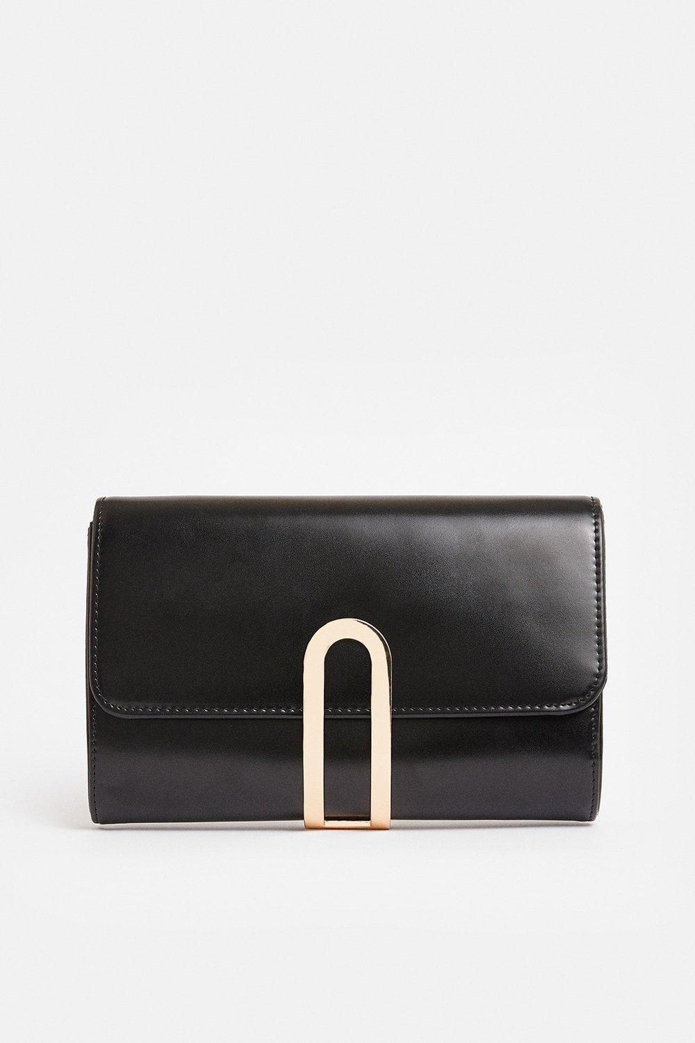Coast Gold Clasp Clutch Bag